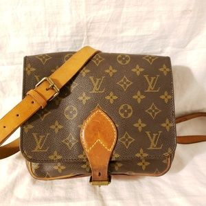 Louis Vuitton cartouchiere MM crossbody